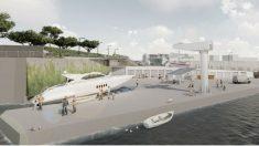 Las instalaciones diseñadas por la empresa de la hija de Díaz Ferrán para el puerto de Ciutadella (Menorca).