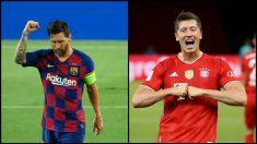 Duelo por el gol en Lisboa. (AFP y Getty)
