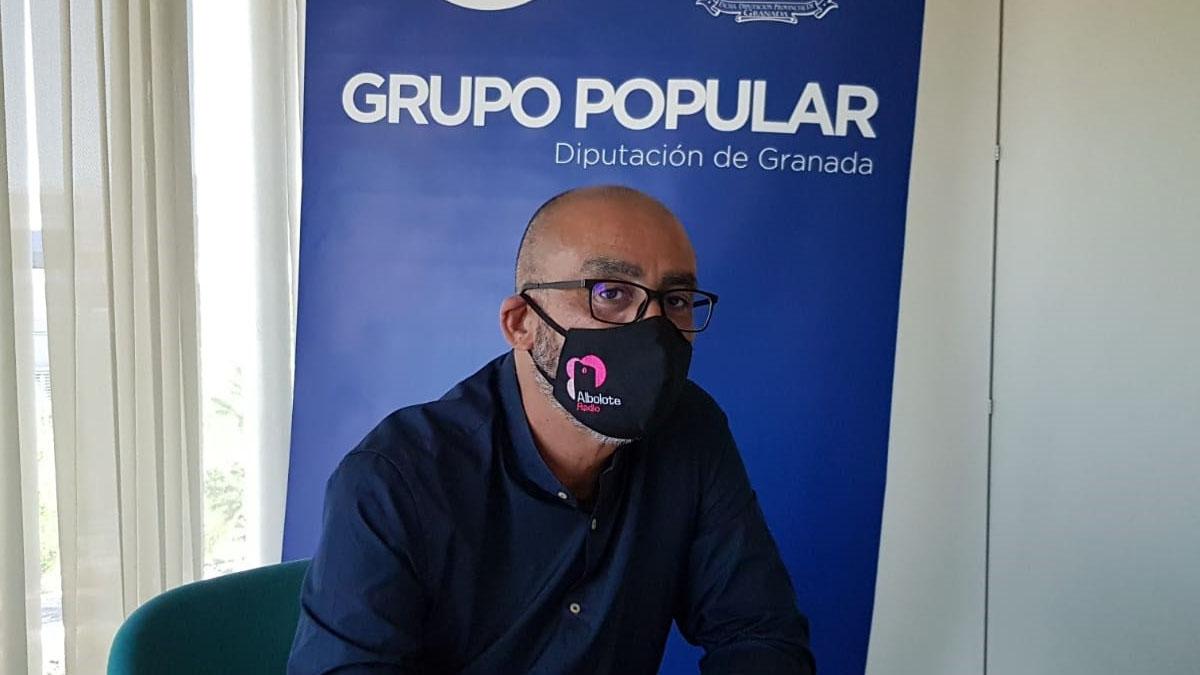 El diputado provincial del PP Salustiano Ureña
