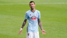 Fiodor Smolov durante un partido con el Celta. (AFP)