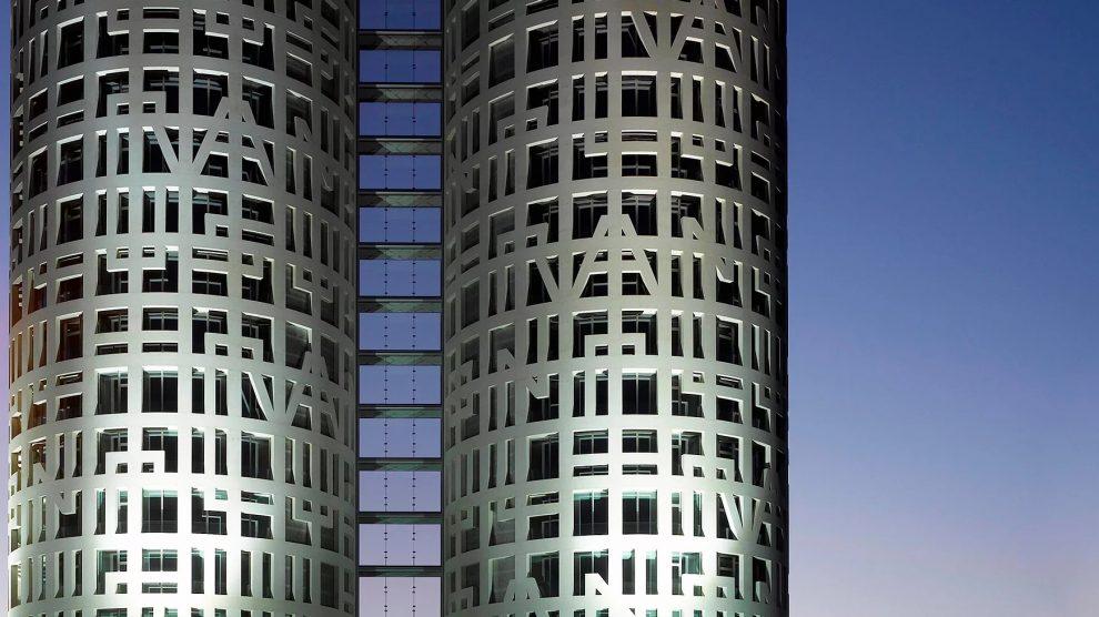 Edificio Torres de Hércules en Cádiz, construido por Nyesa.