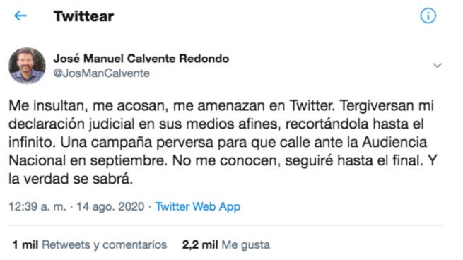 El abogado purgado por Podemos advierte a Iglesias: «Seguiré hasta el final y la verdad se sabrá»