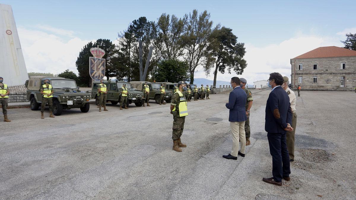 Presentación en la Brilat de Pontevedra de la Operación Centinela Gallego.