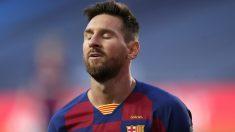 Leo Messi durante un partido con el Barça. (AFP)