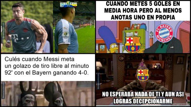 memes barcelona bayern