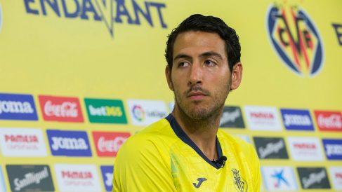 Dani Parejo, en su presentación con el Villarreal (EFE).