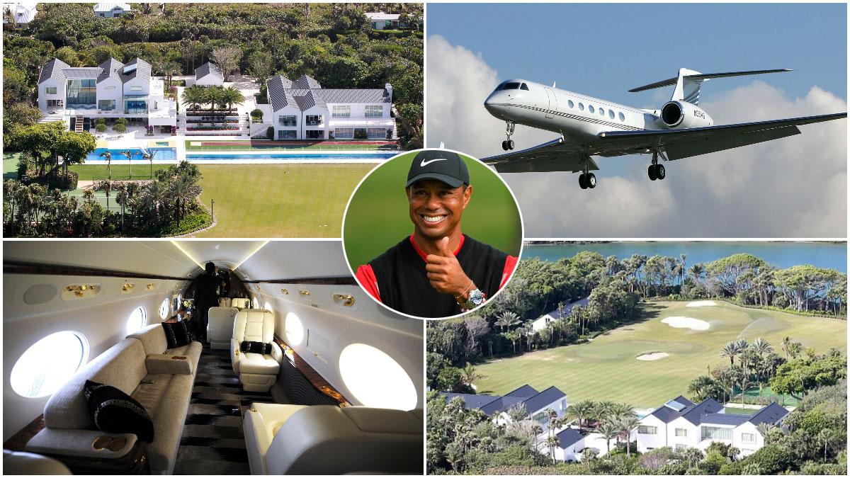 Tiger Woods y sus dos joyas multimillonarias.