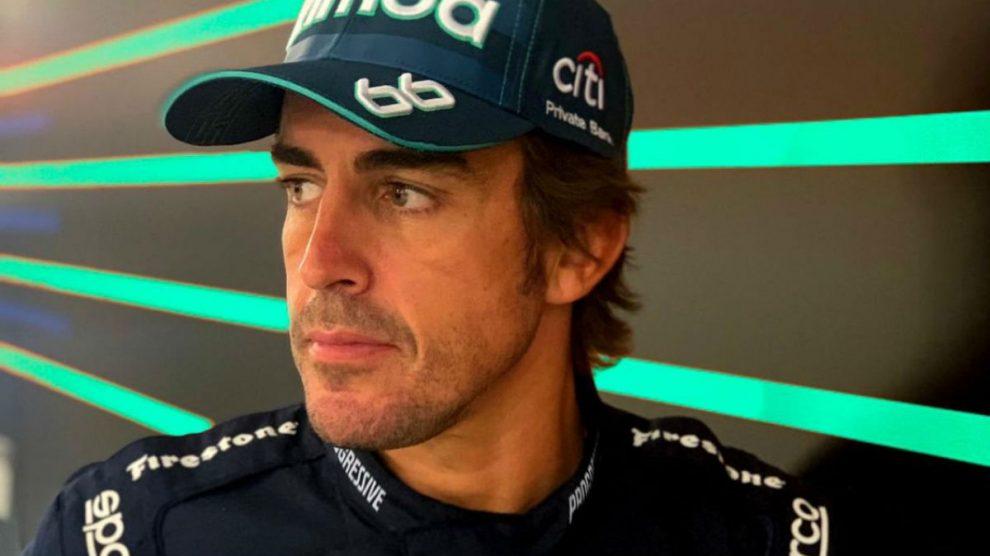 Fernando Alonso, en las 500 Millas de Indianápolis.