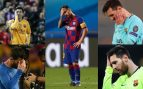 Ya es un clásico: la foto de Messi que se repite en Champions