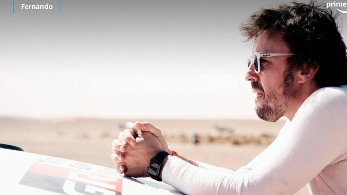 Fernando Alonso estrena serie en Amazon