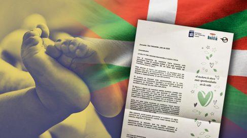 El Ayuntamiento de San Sebastián envía cartas a los recién nacidos