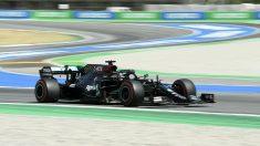 Hamilton voló una vez más en Montmeló. (AFP)