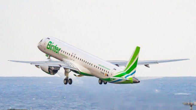 Binter cancela sus vuelos en La Palma