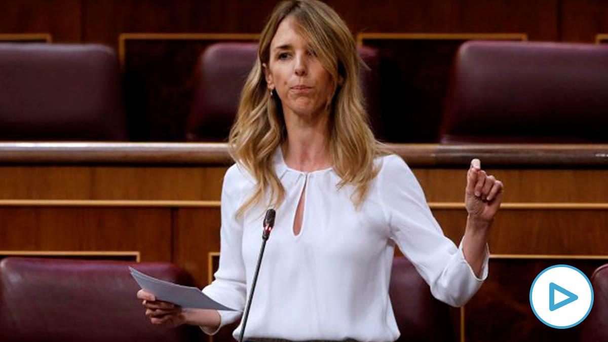 La portavoz del PP en el Congreso de los Diputados, Cayetana Álvarez de Toledo.