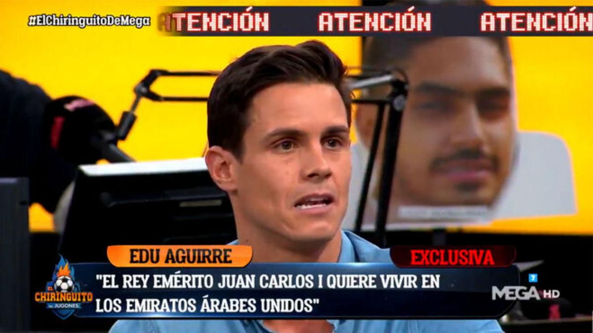 Edu Aguirre en El Chiringuito.