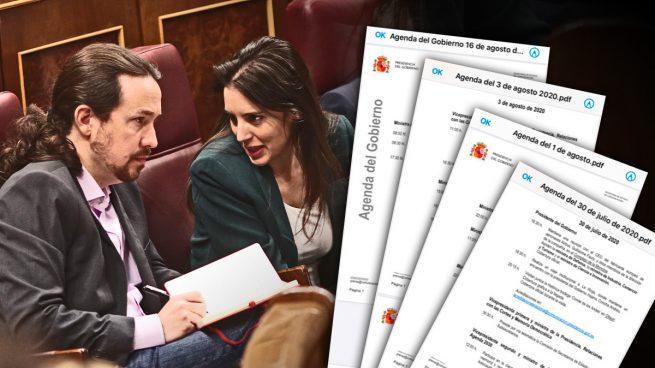 Iglesias y Montero dan la espantada con Podemos en su peor crisis: llevan más de 20 días sin actos oficiales
