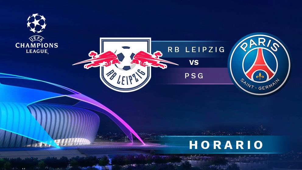 RB Leipzig – PSG: partido de semifinales de la Champions League.