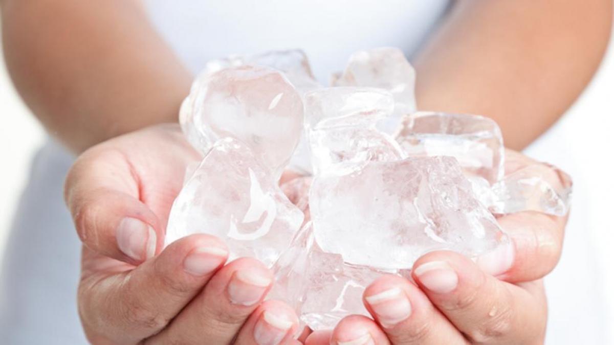 El hielo es un gran aliado para muchas rutinas diarias