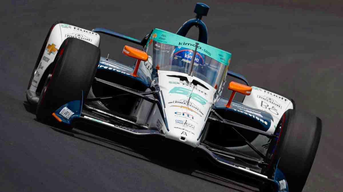 Fernando Alonso, en Indianápolis. (@alo_oficial)