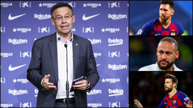 Bartomeu desvela el futuro del Barça: Messi, Neymar, limpia en el vestuario…