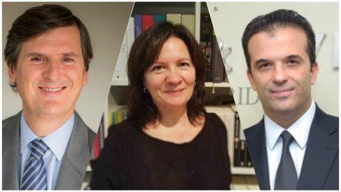 Lucas Osorio, Carmen Pérez y Pablo Mayor, los jueces del caso Fuenlabrada.