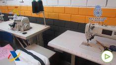Desmantelan un taller de ropa clandestino