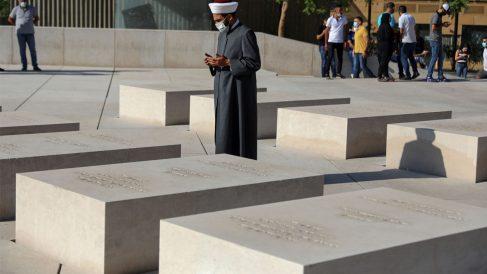 Tumba de Hariri en Beirut (Foto: AFP)