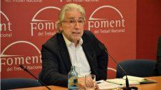 Josep Sánchez Llibre, ex político de CiU y presidente de la patronal catalana Foment del Treball