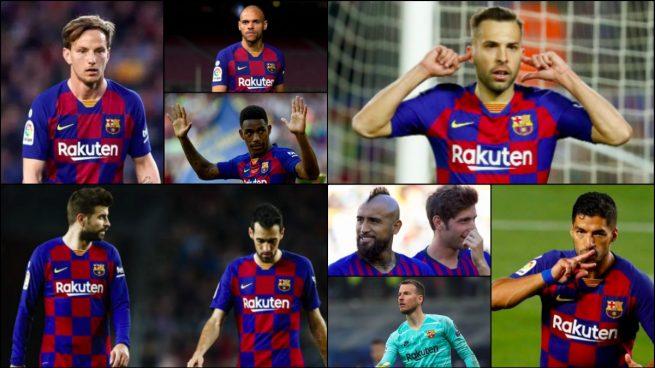 El Barcelona pone a la venta a 11 jugadores