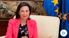 La ministra de Defensa, Margarita Robles. Foto: EP