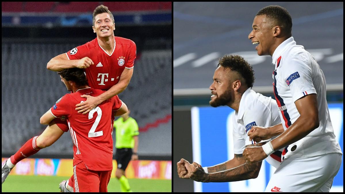 Bayern y PSG disputarán la final de la Champions. (AFP)
