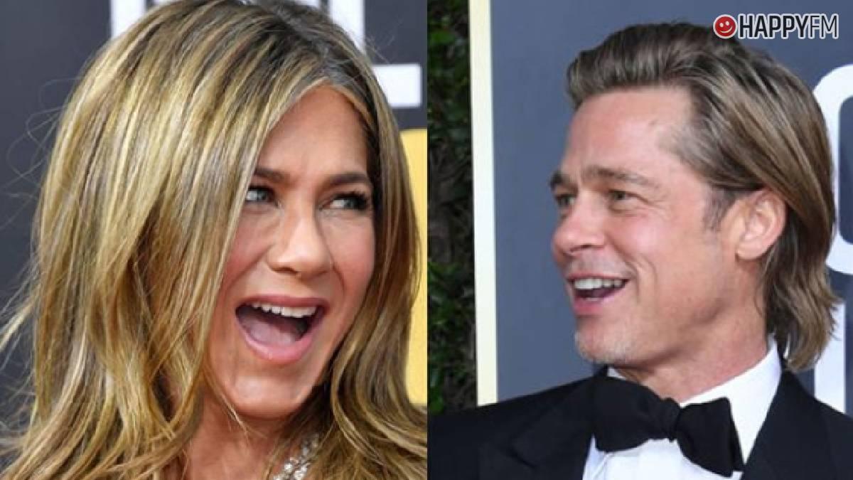 Brad Pitt y Jennifer Aniston