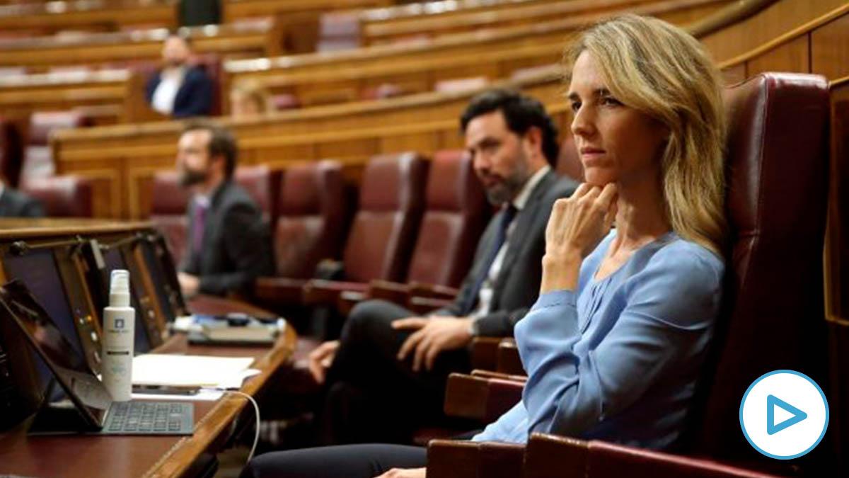 Cayetana Álvarez de Toledo en el Congreso. Foto: EP