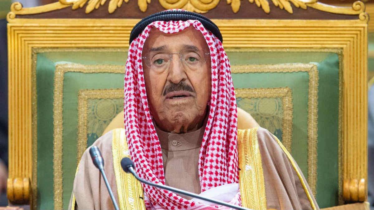 El emir de Kuwait, Sabá al Ahmad al Jaber al Sabá
