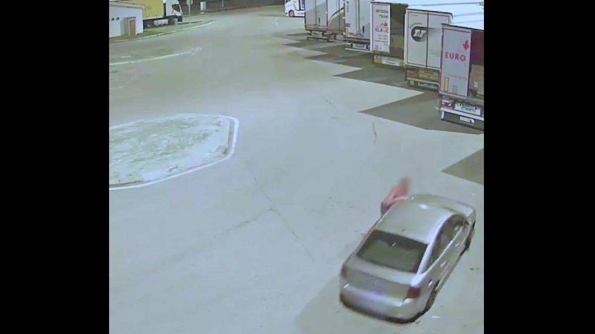 Imagen grabada por la cámara de seguridad