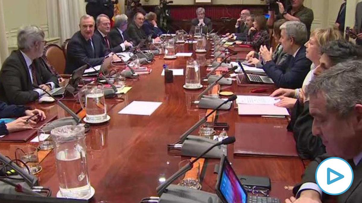 Reunión del CGPJ. Foto- Europa Press.