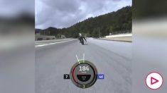 Las escalofriantes imágenes del 'milagro' desde la moto de Rossi.