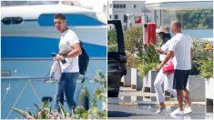 Cristiano Ronaldo y Georgina Rodríguez en Ibiza (GTRES).