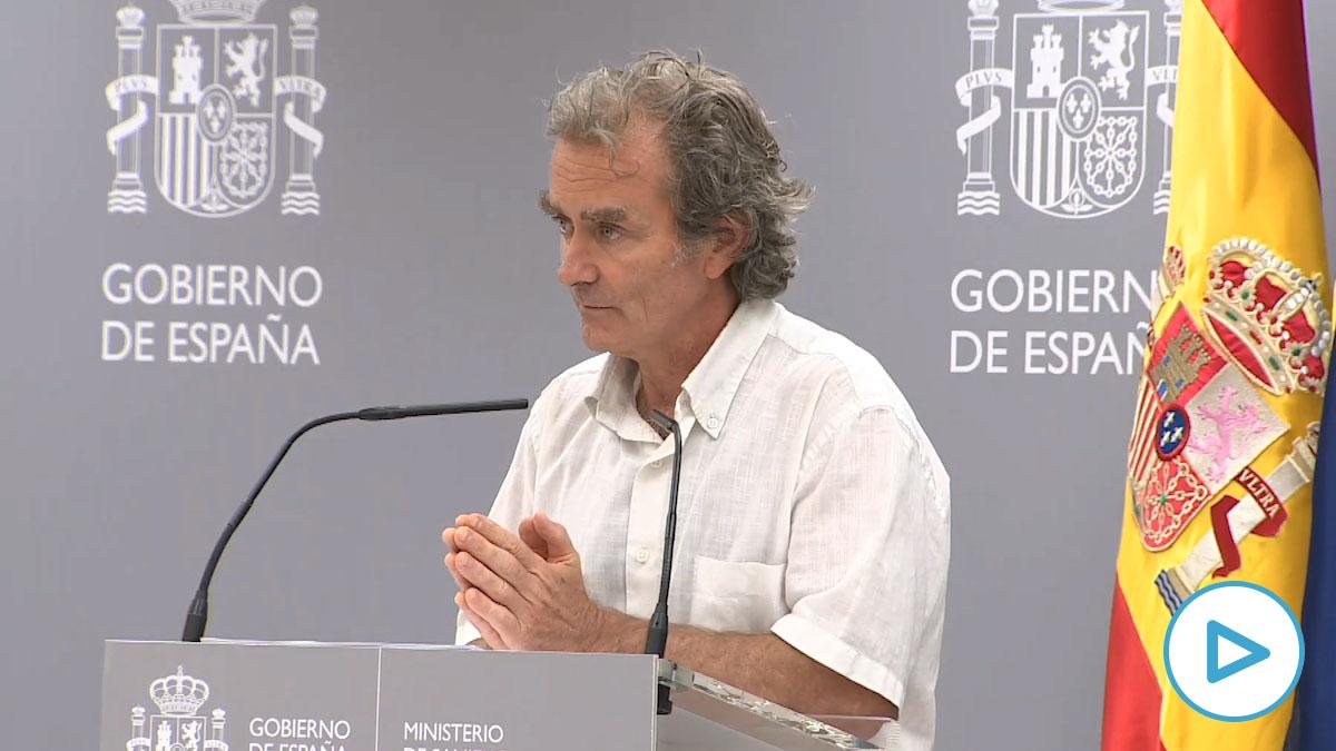Fernando Simón, responsable del Centro de Alertas y Emergencias Sanitarias.