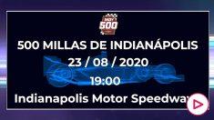 Hora y cómo ver las 500 Millas de Indianápolis.