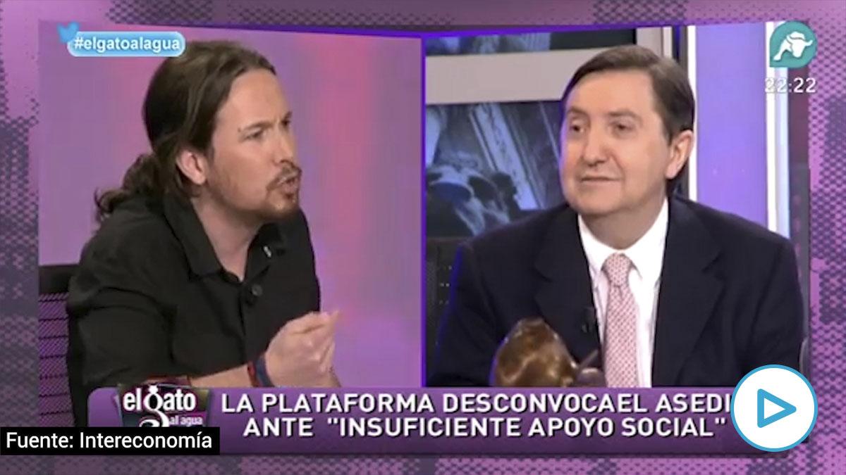 Cuando Pablo Iglesias justificaba que los hijos de los políticos sufriesen los escraches que ahora critica. (Vídeo: Intereconomía)