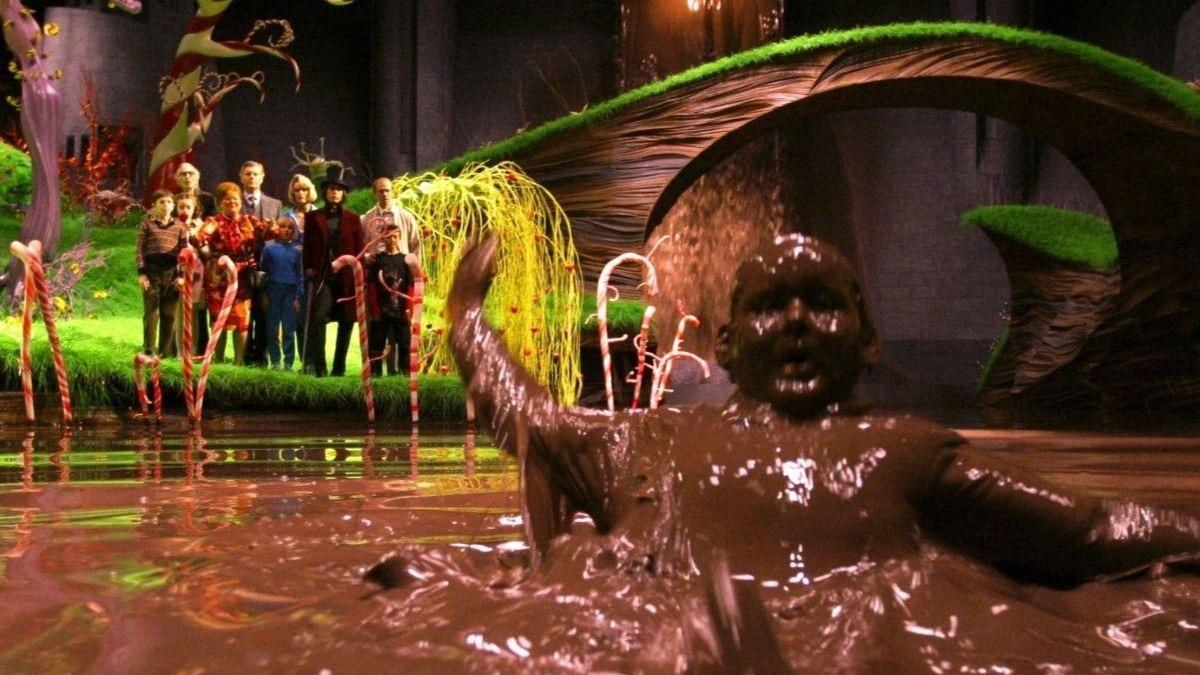 «Charlie y la fábrica de chocolate»