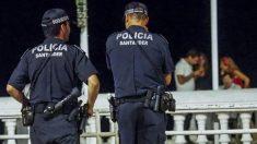 Imagen de archivo de la policía de Santander