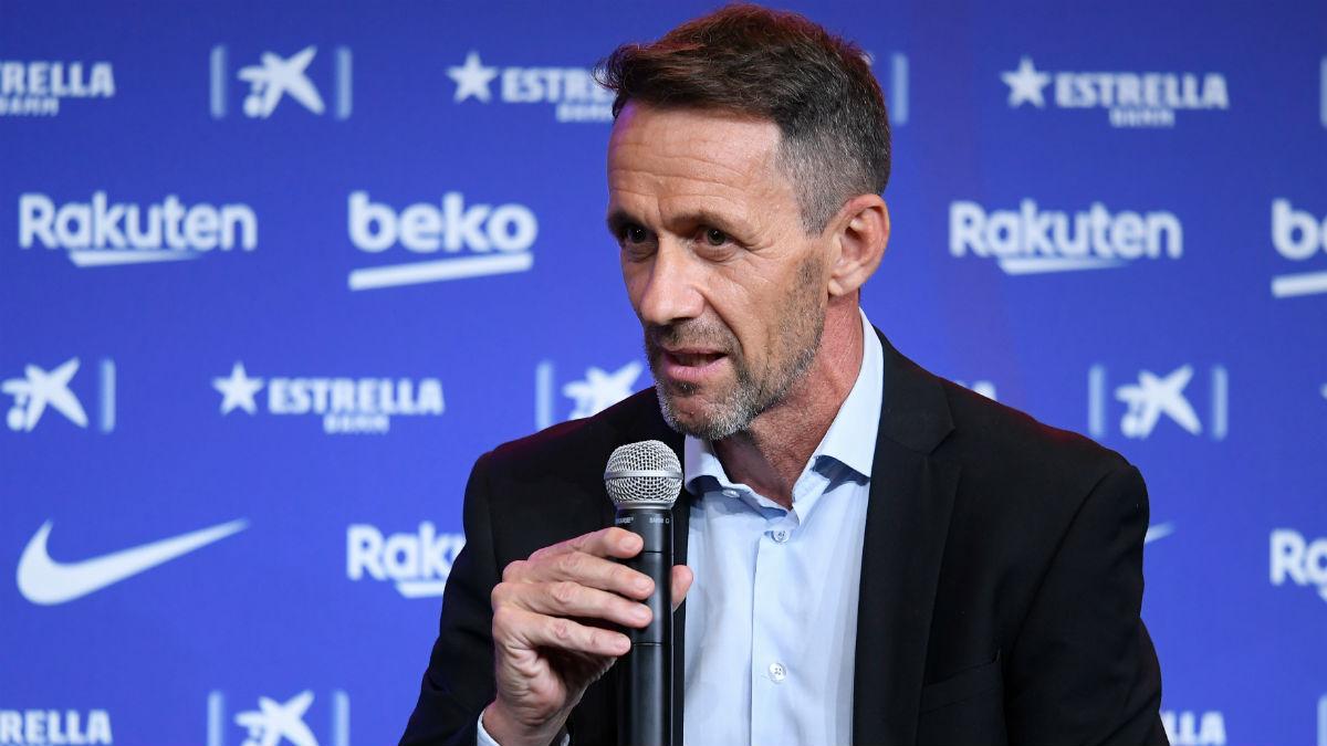 Ramón Planes, nuevo director deportivo del Barcelona. (AFP)