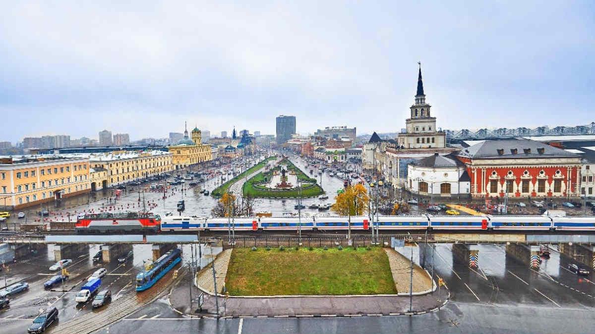 Trenes de Talgo en Rusia