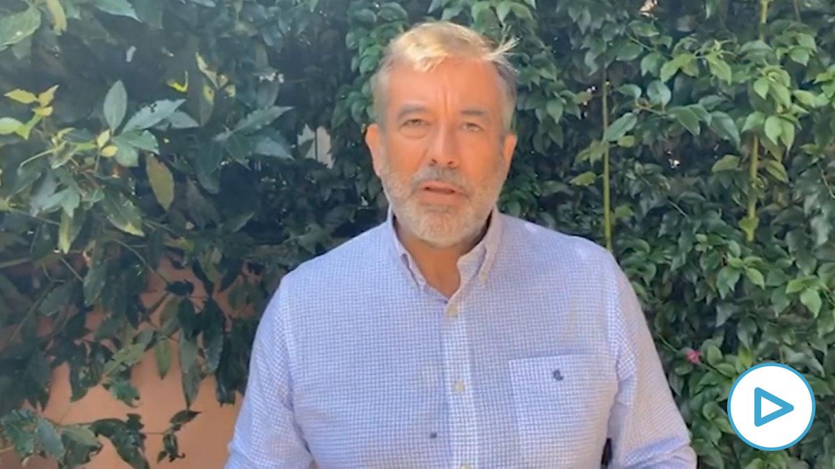 El consejero de Justicia, Interior y Víctimas de la Comunidad de Madrid, Enrique López