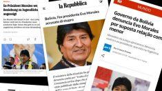 Decenas de medios de todo el mundo se han hecho eco de la exclusiva de OKDIARIO sobre Evo Morales.