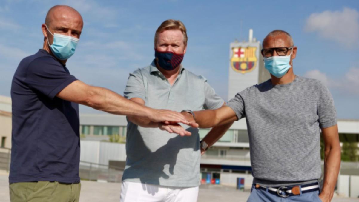 Larsson será el ayudante de Koeman en el Barcelona. (Futbol Club Barcelona)