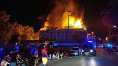 Incendio en Marbella. (Foto; Emergencias Sevilla)