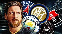 Los cinco equipos que sueñan con fichar a Messi.